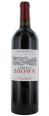 Chateau Brown Pessac-Léognan Grand Vin de Bordeaux 2012 13,5% 75cl