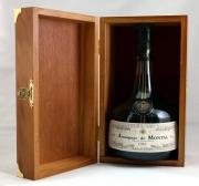 Armagnac De Montal Vintage 1962 LUX karbis 40% 70cl