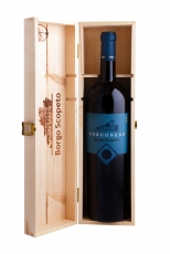 Borgoscopeto Borgonero 2015 150cl in a wooden box