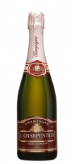 Champagne J.Charpentier Rose Brut 37,5cl