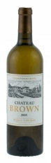 Chateau Brown Blanc Pessac-Leognan 2015 13,5% 75cl