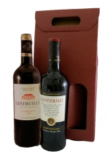 Giftbox with two red wines
