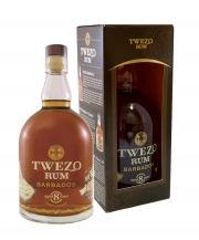 Twezo Rum Barbados 8 yo, 70cl, 40% in a box