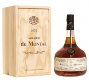 Armagnac De Montal Vintage 1995 puukarbis 40% 70cl