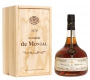 Armagnac De Montal Vintage 1985 puukarbis 40% 70cl