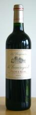 Le Benjamin De Beauregard Pomerol 2011 13% 75cl