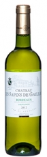 Chateau Les Sapins de Gaillou Blanc 2012 12%, 75cl