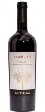 Santoro Primitivo Puglia 12,5%, 75cl